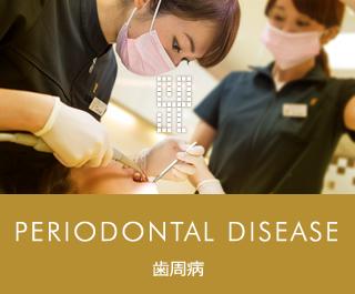 PERIODONTAL DISEASE 歯周病